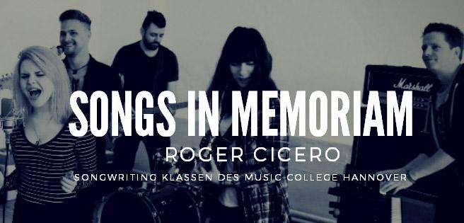songs in memoriam Roger Cicero